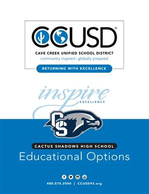 Return to School Option for Cactus Shadows High School Students