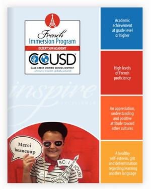 French Language Immersion Brochure