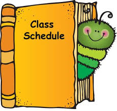 Link to Class Schedule