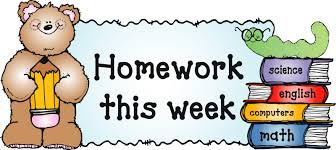 Homework this Week