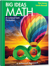 Picture of Big Ideas Math textbook